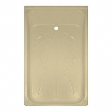 "Caravan/Motorhome PLASTIC SHOWER TRAY 41 1/2"" X27"" S CREAM"